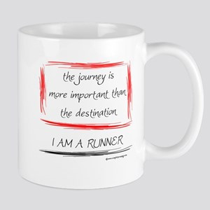 I Am A Runner Slogan #6 Mug
